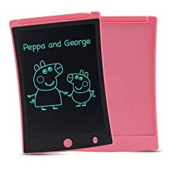 ORSEN LCD Writing Tablet, 8.5-inch Writing Board Doodle Board Drawing Pad with Newest LCD Pressure-Sensitive Technology, Gifts for Kids & Adults (Pink-1)