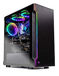 Skytech Shadow Gaming Computer PC Desktop – Intel Core i5 9400F 2.9GHz, GTX 1660 6G, 500GB SSD, 8GB DDR4 3000MHz, RGB Fans, Windows 10 Home 64-bit, 802.11AC Wi-Fi