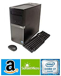 Dell OptiPlex 9020 High Performance Business Desktop Computer, Intel Quad-Core i7-4790 up to 4.0GHz, 16GB RAM, 1TB SSD, DVD-RW, WiFi, USB 3.0, Windows 10 Professional (Renewed)