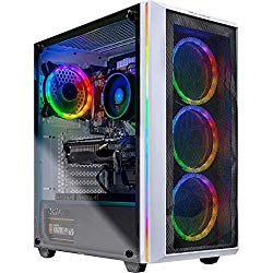Skytech Chronos Gaming PC Desktop – AMD Ryzen 7 2700X, NVIDIA RTX 2070 Super 8GB, 16GB DDR4 (2X 8GB), 1TB SSD, B450M Motherboard, 650 Watt Gold (Ryzen 7 2700X | RTX 2070 Super)