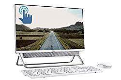 2020 Dell Inspiron 24 5000 23.8″ FHD Touchscreen All-in-One Desktop, 10th Gen Intel Quad-Core i5-10210U 12GB DDR4 256GB PCIe SSD + 1TB HDD MaxxAudio FHD Camera WiFi USB-C Win 10 + DELCA 16GB SD Card