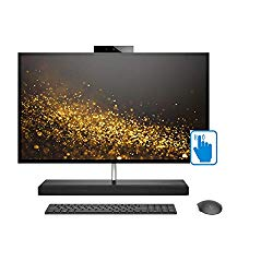 HP Envy 27 QHD Touch Premium Home and Business All-in-One Desktop (Intel 8th Gen i7-8700T 6-cores, 32GB RAM, 2TB HDD + 1TB Sata SSD, 27″ QHD Touchscreen 2560×1440, GeForce GTX 1050, Win 10 Pro)