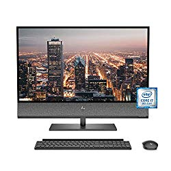 HP Envy 32 All-in-One PC, 9th Gen Intel Core i7-9700 Processor, 4K UHD Monitor, NVIDIA GeForce RTX 2060 Graphics (6 GB), 32 GB RAM, 32 GB Intel Optane, 1 TB SSD, Windows 10 (32-a0040, Black)
